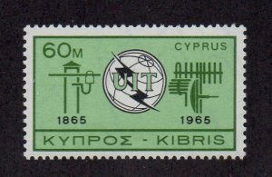 Cyprus 258 MNH SCV $7.50 BIN $4.50