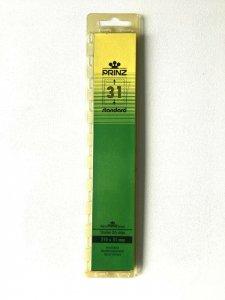 25pcs PRINZ Standard Stamp Strip Mounts Pre Cut Strips (31 x 210mm)
