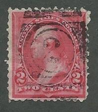 United States  Scott 265  Used