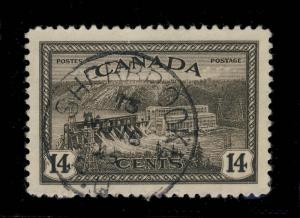 CANADA - 1946 - SHERBROOK / P.Q. CDS ON SG 403 - VERY FINE