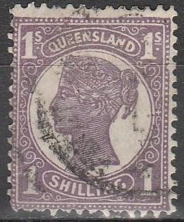 Queensland #121  F-VF Used CV $4.75  (A5846)