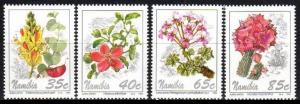 1994 Namibia 772-775 Flowers