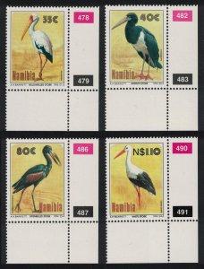 Namibia Storks 4v SE Corners 1994 MNH SG#649-652 MI#776-779