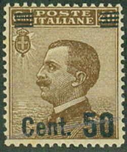 Italy Italia Sa140 50c on 40c OP MNH 44807