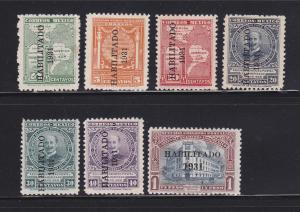 Mexico 676-682 Set MHR Various