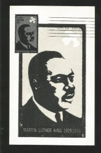 O) 1968 MEXICO, MARTIN LUTHER KING,  PEACE, AMERICANCIVIL RIGHTS  LEADERS, MA...