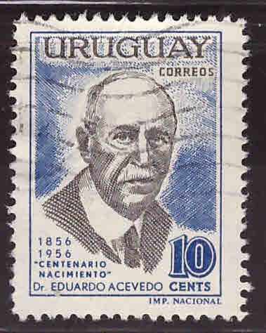 Uruguay Scott 629 Used stamp