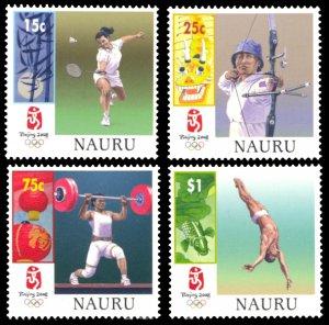 Nauru 2008 Scott #578-581 Mint Never Hinged