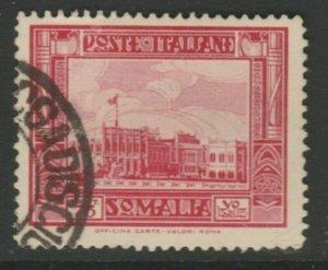 Somalia 1935-38 75c Perf. 14 Usato Italia Colonie Italy Colony A18P13F183