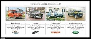 MS3518 2013 British Auto Legends miniature sheet UNMOUNTED MINT/MNH