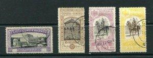 Romania 1906 Mi 199 and 204-6 Used Cv 85 euro 9624