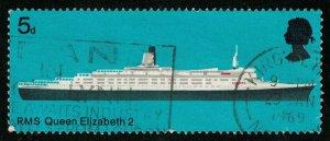 RMS QUEEN ELIZABETH 2, 5d, Great Britain (T-7139)