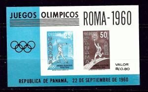 Panama C237a MNH 1960 Olympics S/S