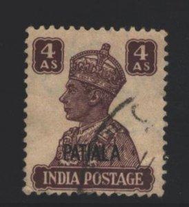India Patiala Sc#O72 Used