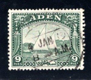 Aden #2  Used, CV $3.50   .....   0020104