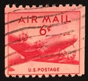 US #C41 Used F/VF - Airmail Coil