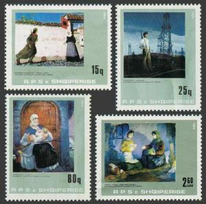 Albania 2132-2135,MNH.Michel 2199-2204. Tirana Gallery of Figurative Art,1984.