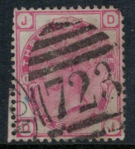 Great Britain #61 Plate #11  CV $50.00  Southampton numeral cancellation