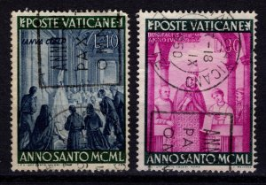 Vatican City 1949 Holy Year, Part Set [Used]