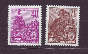 J23563 JLstamps 1955 germany DDR part of set mlh #229,230a