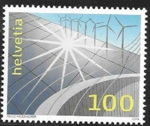 2014    SWITZERLAND  -  SG.  2018  -  RENEWABLE ENERGY   -  MNH