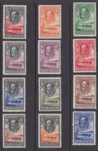 BECHUANALAND 105 - 116  MINT HINGED OG * NO FAULTS EXTRA FINE!