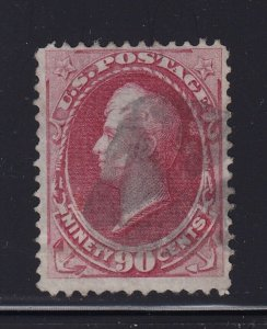 191 F-VF used neat cancel with nice color cv $ 360 ! see pic !
