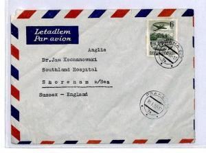 CQ136 1952 *Czechoslovakia* Praha Cover