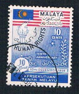 Malaya Federation 89 Used Human rights (BP22220)