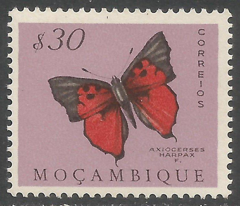 MOZAMBIQUE 367 MNH BUTTERFLY Z7733-1