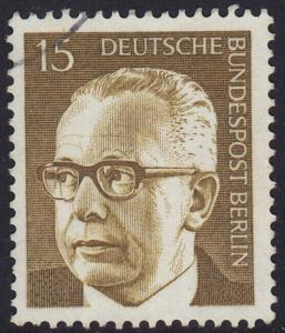 Germany Berlin - 1972 - Scott #9N286A - used - Heinemann