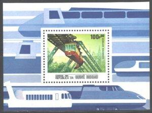 1984 Guinea Bissau 833/B262 Locomotives 7,00 €