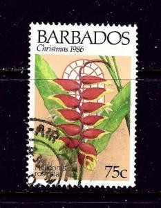 Barbados 696 Used 1986 Christmas