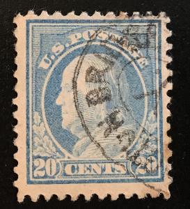 476 Wash/Franklin Series, 10 perf., NWM, circ. single, NH, Vic's Stamp Stash