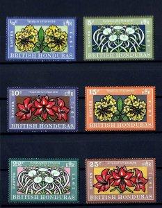 BRITISH HONDURAS - 1971 - EASTER - FLOWERS - FLORA - MINT - MNH SET!