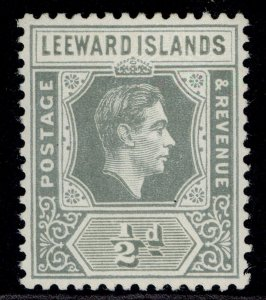 LEEWARD ISLANDS GVI SG97, ½d slate-grey, M MINT.