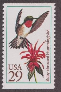 2642 Hummingbird F-VF MNH single  from booklet