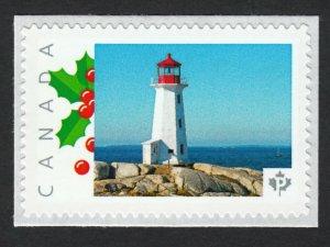 LQ. PEGGY'S COVE LIGHTHOUSE Nova Scotia Picture Postage MNH Canada 2015 p15/7Lh1