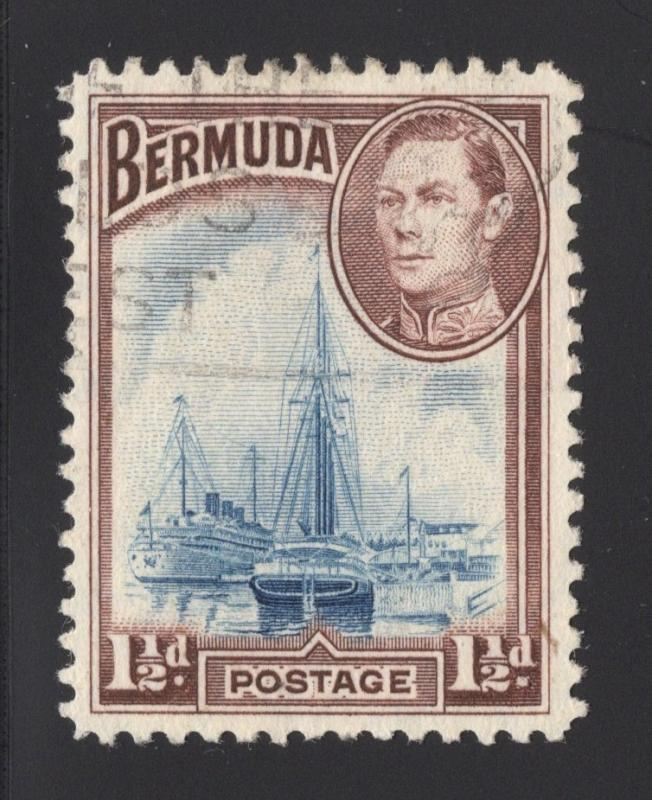 Bermuda #119 Violet Brown & Blue - Used