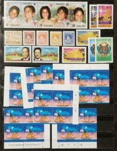 NAURU Stamp Lot MH MNH T1181