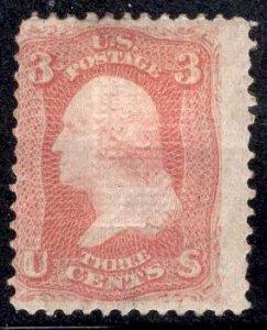 US Scott Stamp #94 F Grill MINT Hinged SCV $350