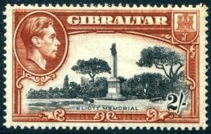 HERRICKSTAMP GIBRALTAR Sc.# 115a Mint LH Scott Retail $70.00
