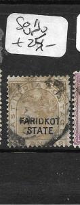 INDIA  FARIDKOT (PP3108B)  QV 6A  SG 11  VFU
