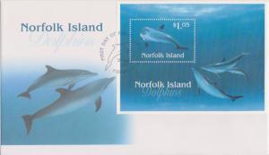 Norfolk Islands Scott 623 Unaddressed.