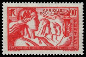 French Equatorial Africa - Scott 31 - Mint-Hinged