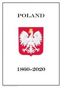 Poland 1860-2020 PDF (DIGITAL) STAMP ALBUM PAGES