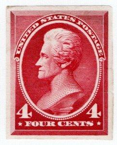 (I.B) US Postal Service : Andrew Jackson 4c (proof)