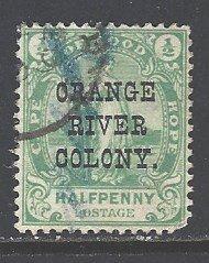 Orange River Colony Sc # 54 used (RS)