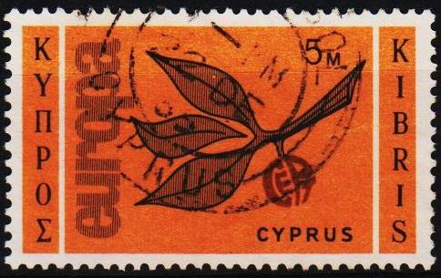 Cyprus.1965 5m S.G.267 Fine Used