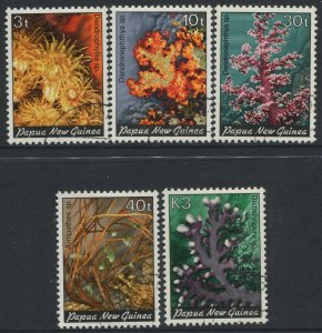 STAMP STATION PERTH Papua New Guinea #575-579 General Issue  CTO 1983 CV$12.00